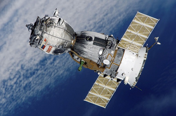 Soyuz Spacecraft (Image from NASA via Wikimedia Commons)