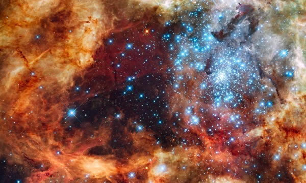 A Festive View From Hubble (Image From HubbleSite)