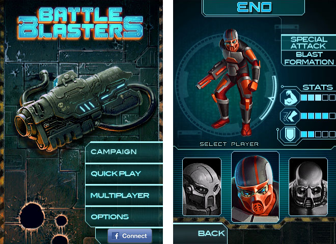 Battle Blasters for iPhone