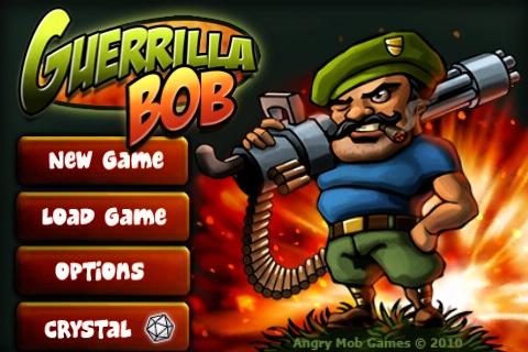 Guerrilla Bob title screen