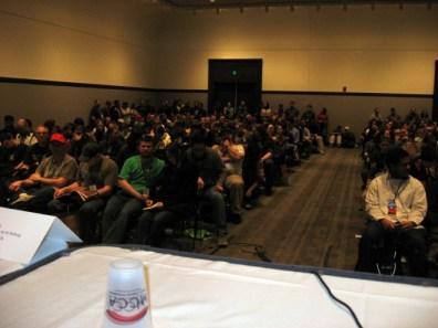 The panel audience; photo © Matt Blum