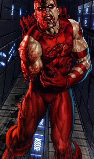 Red Arrow aka Roy Harper Loses His arm