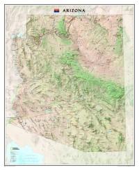 Arizona wall map. Image: National Geographic