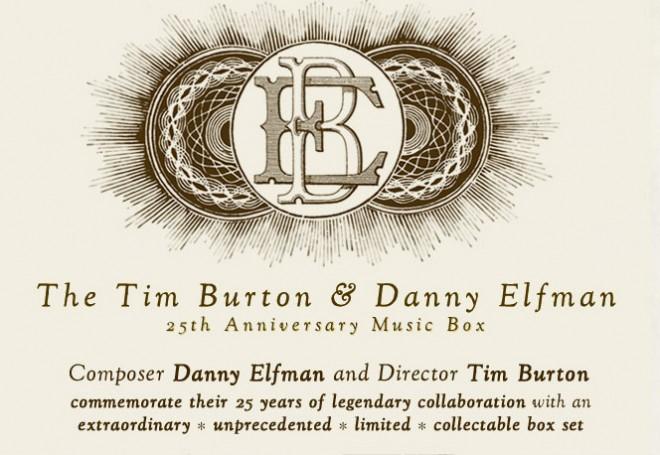 Burton / Elfman boxed set