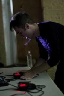 Photo: Ben Mason - Chiptune artist nullsleep performs at 8static