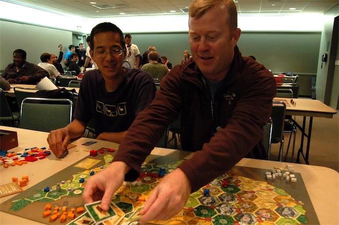 Playing games at PAX