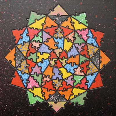 Baffler Bindu Truss Puzzle