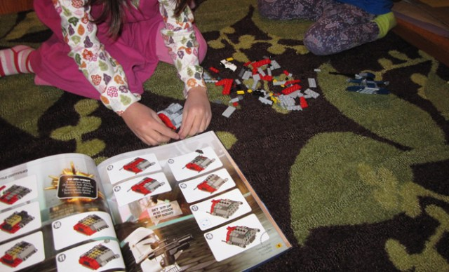 Brickmaster: instructions included