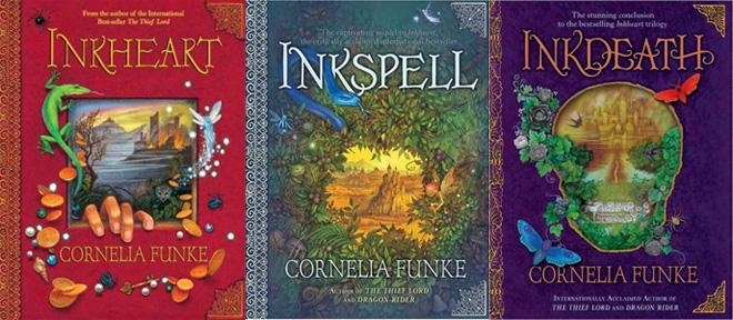 Inkheart trilogy by Cornelia Funke