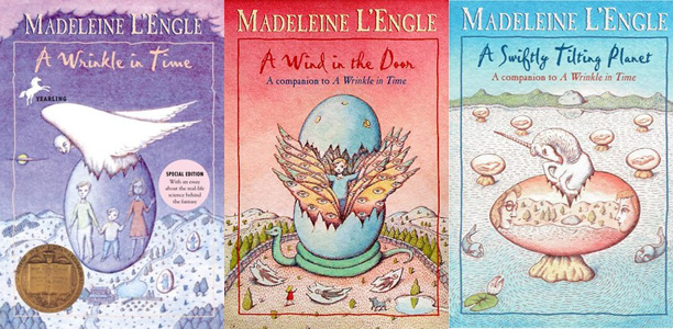 A Wrinkle in Time series by Madeleine L'Engle