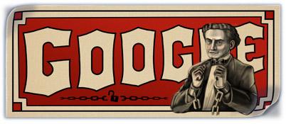 Google Houdini doodle