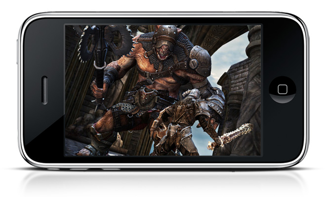 Infinity Blade for the iOS