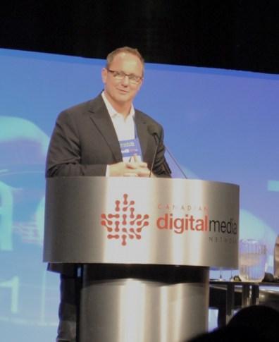 Kevin Newman, a former Canadian news anchor turned digital media strategist