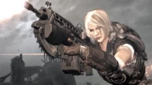 Anya character with lancer