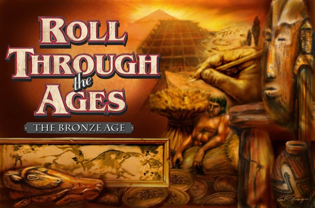 Roll Through the Ages box