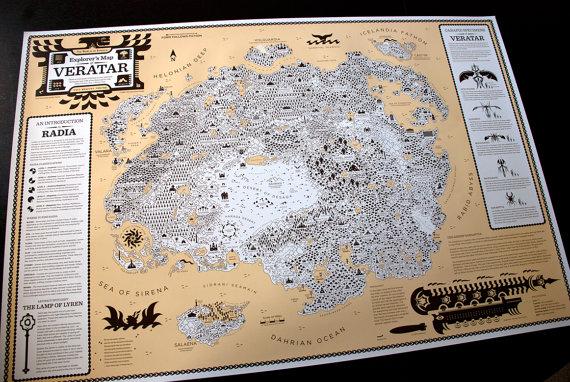 World of Ryanaga Explorers Map