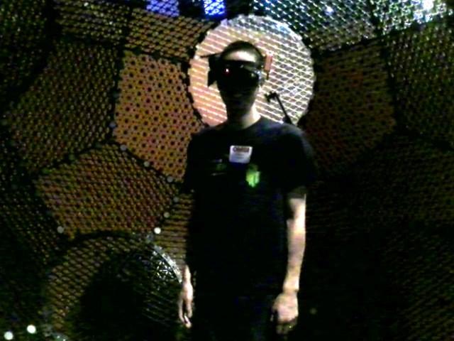 Jonathan Liu in VirtuSphere