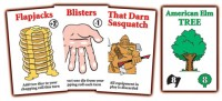 Flapjacks & Sasquatches cards