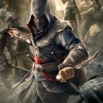 Ezio and his blade