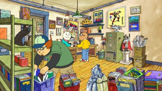 PBS Arthur / Comic Shop