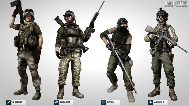 Multiplayer characters, US version