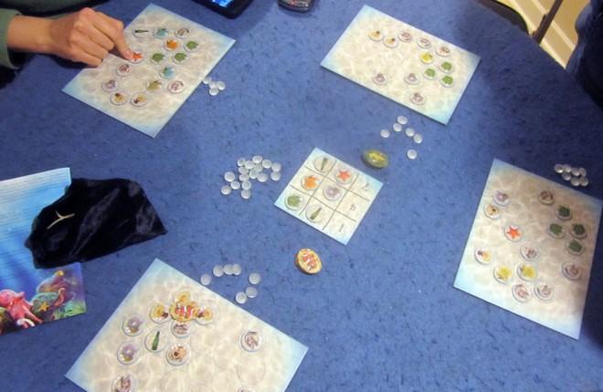 Octopus' Garden game in progress
