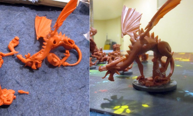 Super Dungeon Explore: Starfire model assembly