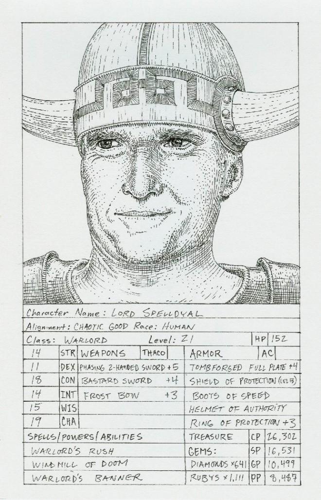 Mitt Romney as D&D Character.