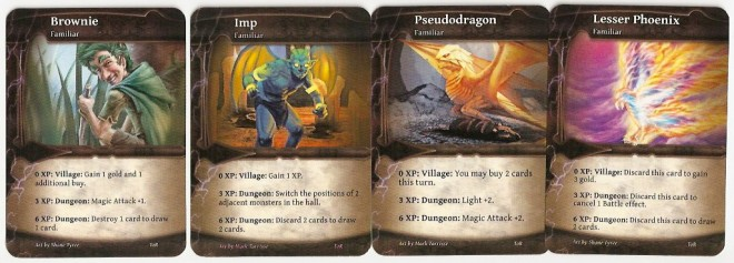 Thunderstone Advance familiars