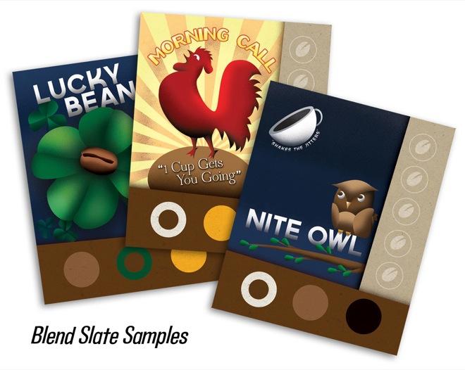VivaJava Blend Slate samples