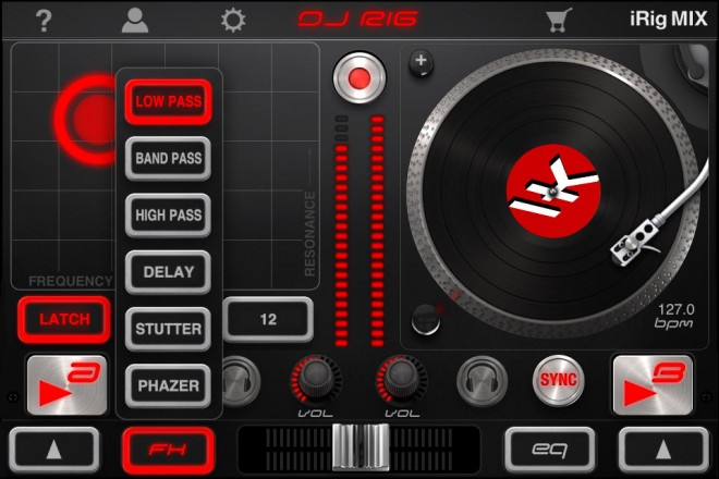 DJ Rig screen shot