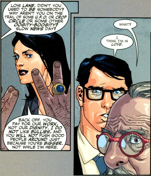 Superman, Lois Lane, DC Comics, Mark Wait