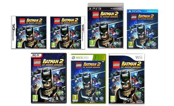 Lego Batman 2 DC Super Heroes Formats
