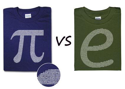 pi vs. e