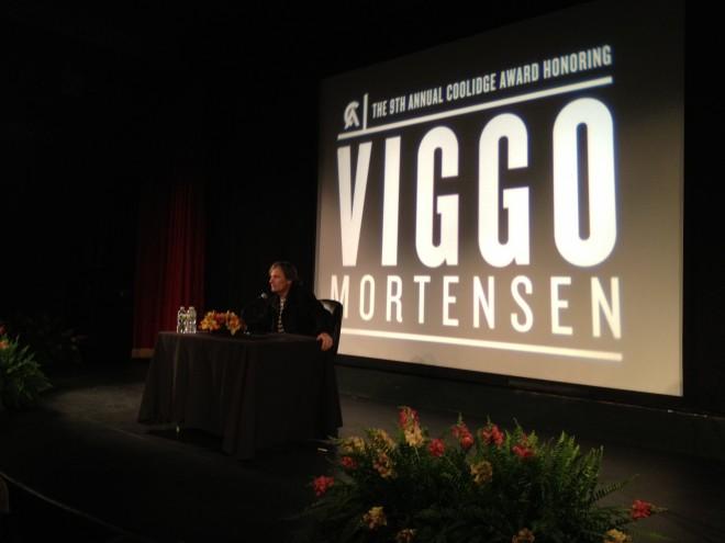 Viggo Mortensen at the Coolidge Corner Theatre
