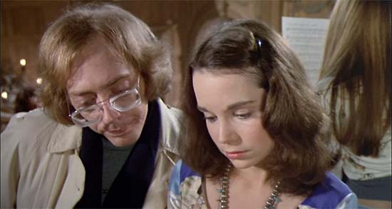 William Finley and Jessica Harper in Phantom of the Paradise