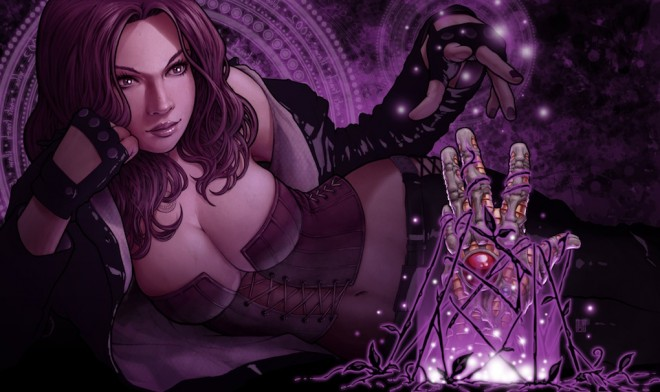 Witchblade #155 — Look up (Click to Enlarge)