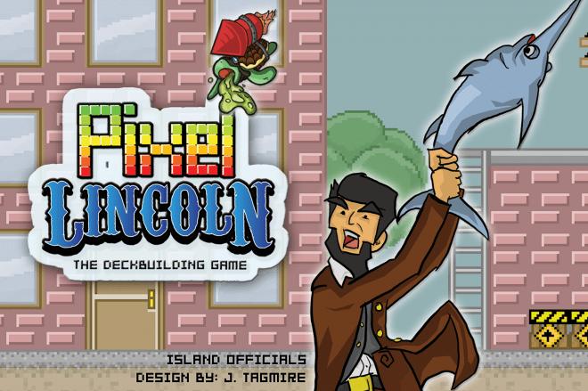 Pixel Lincoln splash image