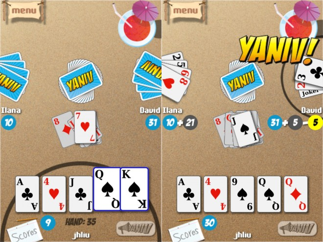 Yaniv screenshots