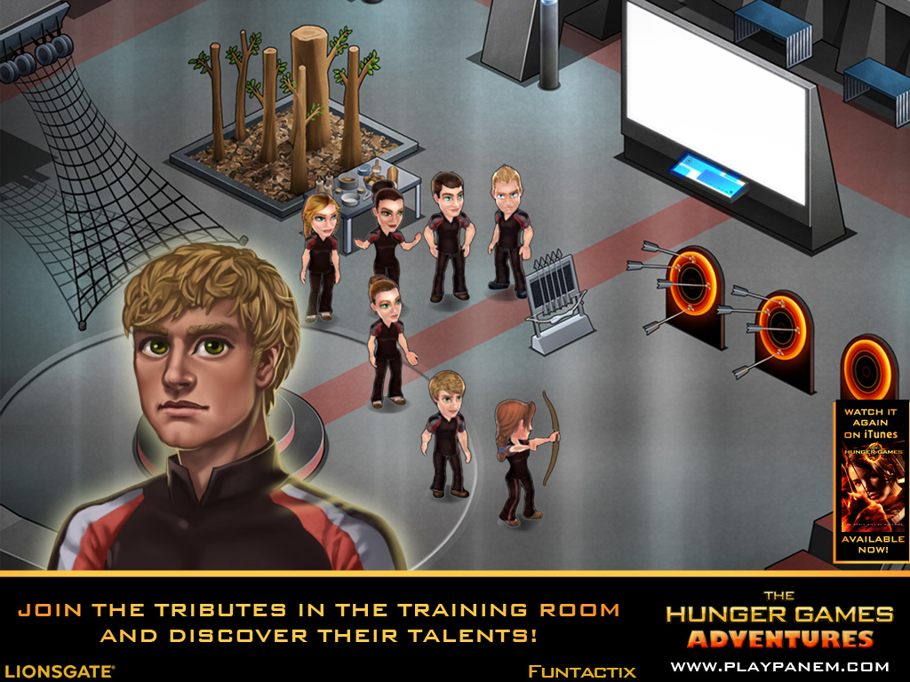 The Hunger Games Adventures For Ipad Will Immerse You In