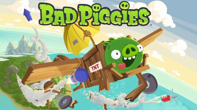 Bad Piggies game graphic