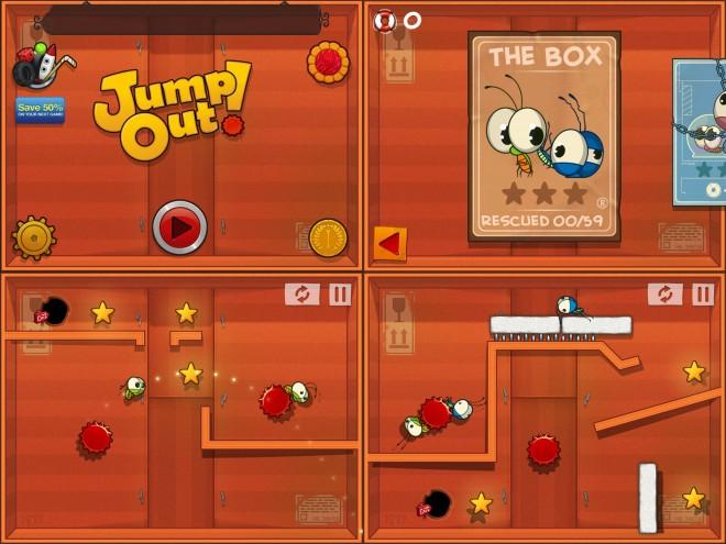 JumpOut screenshots