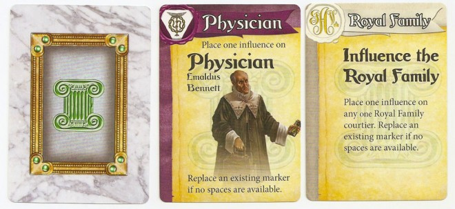 Influence cards