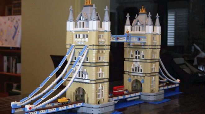 Watch This | GeekDad Builds the Lego Tower Bridge