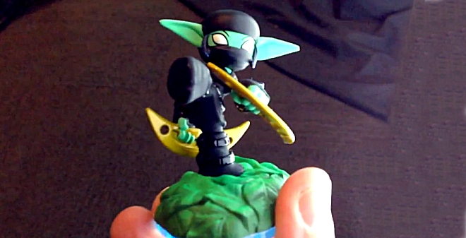 Stealth Elf Series 3 from Skylanders Swap Force