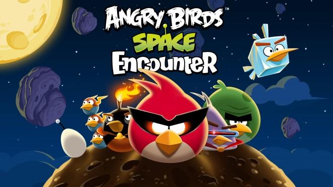 Angry Birds Space Encounter Logo