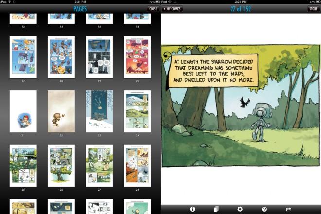 Antler Boy on the iPad