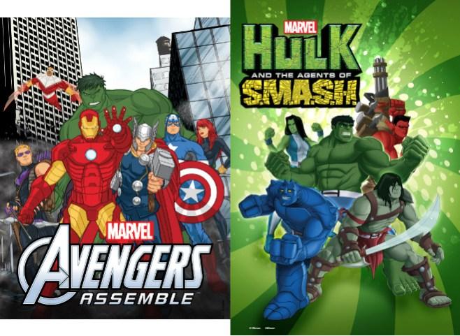Marvel Universe on Disney XD to Add Avengers Assemble, Hulk