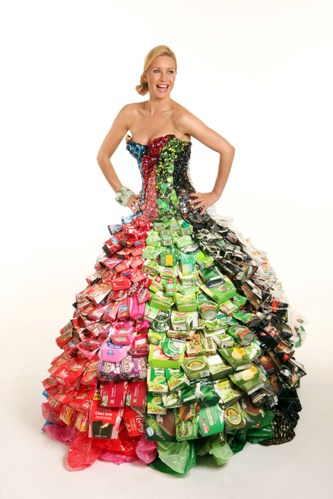 wedding gown, repurposing, recycling, envrionment,