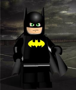 Batman minifig